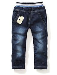 la mode des filles toutes chaudes de jeans correspondance doux épaississants