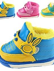Baby Calçados - Botas - Azul / Amarelo / Rosa - Courino - Ar-Livre / Casual