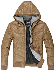 VaLS™ Men's Double-Hats Casual Thicken Outdoor Coats Winter Short Hooded Jackets