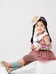 vestuário desportivo moda da menina define linda princesa conjuntos de roupas queda