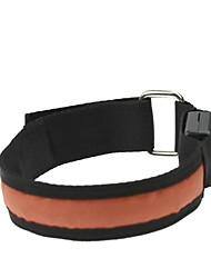 conduit bras de lumière de bracelet brassard orange (2xcr2032)