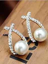 Stud Earrings Alloy Jewelry For 2pcs