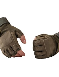 ESDY  Fingerless Military Tactical Airsoft Hunting Riding Game Outdoor Sports Gloves  Army Green