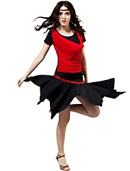 Latin Dance Performance Viscose Yarn Sheet And Sequins  Latin Dancewear Outfits For Ladies (More Colors)