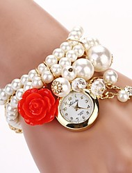 Women's New Pearl Series Hanging Rose Watch ,Pearl  Watch (Assorted colors)C&D-119