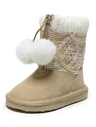 Girls' Shoes Comfort Closed Toe Snow Boots Flat Heel Booties/Ankle Boots