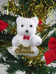 décoration de Noël goutte suspendue ours mignon