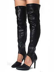 Women's Shoes Pointed Toe Stiletto Heel Over The Knee Boots More Colors available