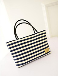 Women Canvas Sports / Casual Tote Blue / Red / Black