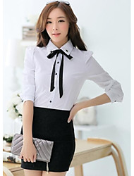 estilo ol más la camiseta de manga larga de las mujeres