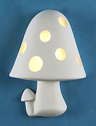 gypse mur de champignons lumière