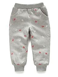 la mode pour enfants tous les pantalons chauds correspondance ancre épaississants