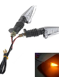 Motorcycle LED  2W 112LM 15-LEDs Yellow  Light Turn Signals / Motorcycle Brake Lights