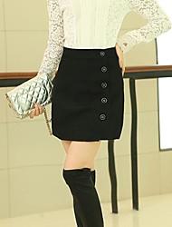 vereisten ™ Damenmode einfarbig Hip Paket Röcke (mehr Farben)