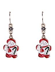 Earring Drop Earrings Jewelry Women Party / Daily / Casual / Sports Alloy / Rhinestone / Enamel