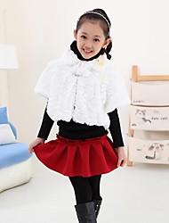 Girl's Cotton Blend Jacket & Coat , Winter/Spring/Fall Short Sleeve