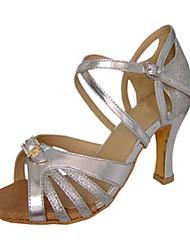 Zapatos de baile (Rojo/Gris) - Danza latina - No Personalizable - Tacón de estilete