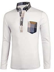 Men's Fashion Slim Polo shirt