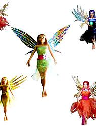 fadas prado elétricos voando brinquedos (cor ramdom)