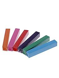 tiza tinte para el cabello desechable 6 piezas (6 diferente color al azar)