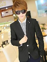 nouvelle coréen manches longues costume version mode blazer d'hommes