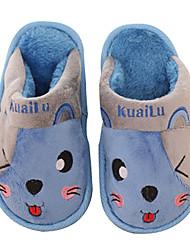 Zapatillas ( Azul/Verde ) - Comfort/Dedo redondo - Sintético