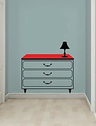 Wall Stickers Wall Decals,  Modern Classic cabinet PVC Wall Stickers