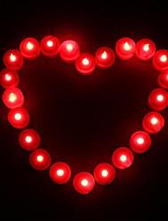1pcs Coway levou vela vermelha em forma de luz partido decoração do casamento de abastecimento