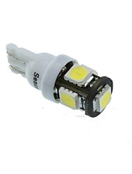 T10 Car Motorcycle White 2.5W 6500-7000 Reading Light License Plate Light