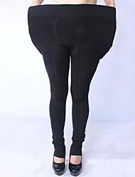Women's Big Size Winter  Fleece Lined Thick Warm Leggings