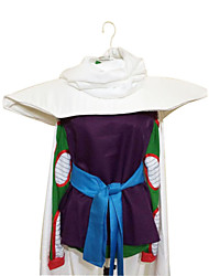 Inspired by Dragon Ball Piccolo Anime Cosplay Costumes Cosplay Suits Patchwork Purple Sleeveless Cloak Top Leotard Belt For