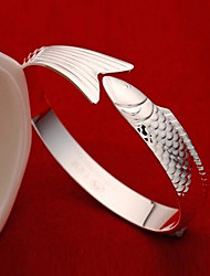 Weiyinyuan Fashion Sterling Silver Fish Bracelet