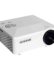 GEEKWIRE® LP-6 LCD Mini Projector QVGA (320x240) 500 Lumens LED 4:3/16:9