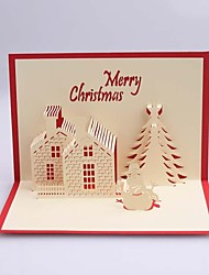 ChristmaCastle Dimensional Christmas Cards