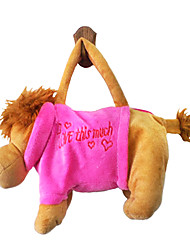 Lion Design Plush Toys Soft Hand Bag