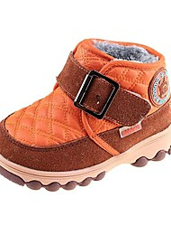 Boys' Shoes Comfort Snow Boots Low Heel Ankle Boots With Magic Tape More Colors available