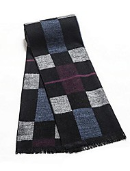 Men Cashmere Scarf , Work/Casual