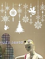 adesivos de parede decalques de parede, murais de Natal de decoração de parede de pvc adesivos