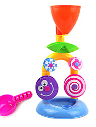 Small Waterfall Water Beach Hourglass Waterwheel Infant Child Bath Toys