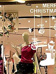 """mangueiras clássicos Feliz Natal e etiqueta da janela brinquedos (11.04 """"w × 22.8"""" l)"""