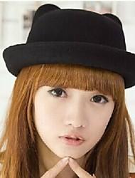 Corea del sombrero de lana de la moda femenina