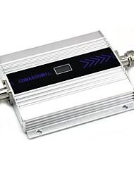 écran lcd mini-CDMA 800 MHz amplificateur de signal de téléphone mobile, le signal de 850MHz répéteur + adaptateur d'alimentation