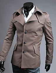 Men's Elegant Single Breasted Trench Coat