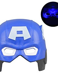 Cool Luminous LED Captain America Mask for Halloween