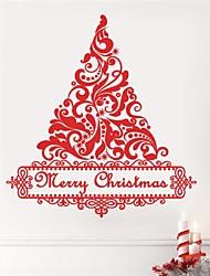 etiqueta de la pared la pared del árbol de navidad jiubai® calcomanía