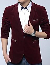 HUACAI Men's M-5XL Warm Velvet Leisure Suit