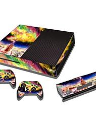 Xbox одна консоль наклейка защитной наклейки кожного покрова контроллер кожи