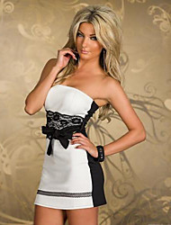 Club Girl Women's Sexy Strapless Empire Dress N131