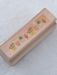 longue timbre en bois (pot de fleur)