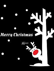 JiuBai® Christmas Reindeer Wall Sticker Wall Decal